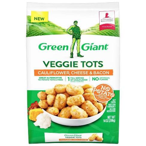 Green Giant Cauliflower Cheese & Bacon Veggie Tots - 14oz - image 1 of 4