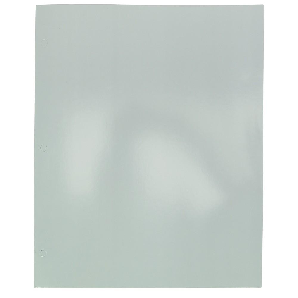 Image of 2 Pocket Paper Folder Gray - Pallex