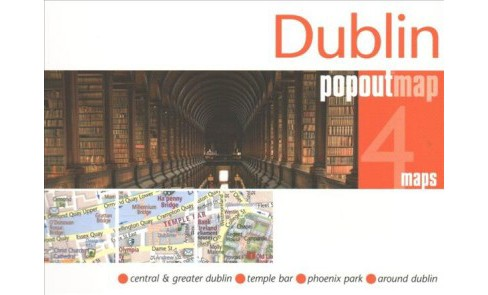 Dublin Popout Map (Paperback) - image 1 of 1
