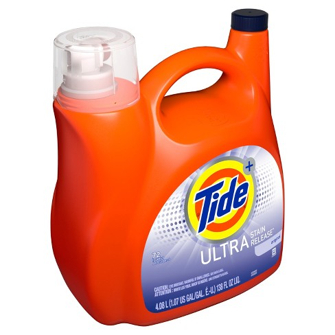Tide Ultra Stain Release High Efficiency Liquid Laundry Detergent - 138 oz - image 1 of 3