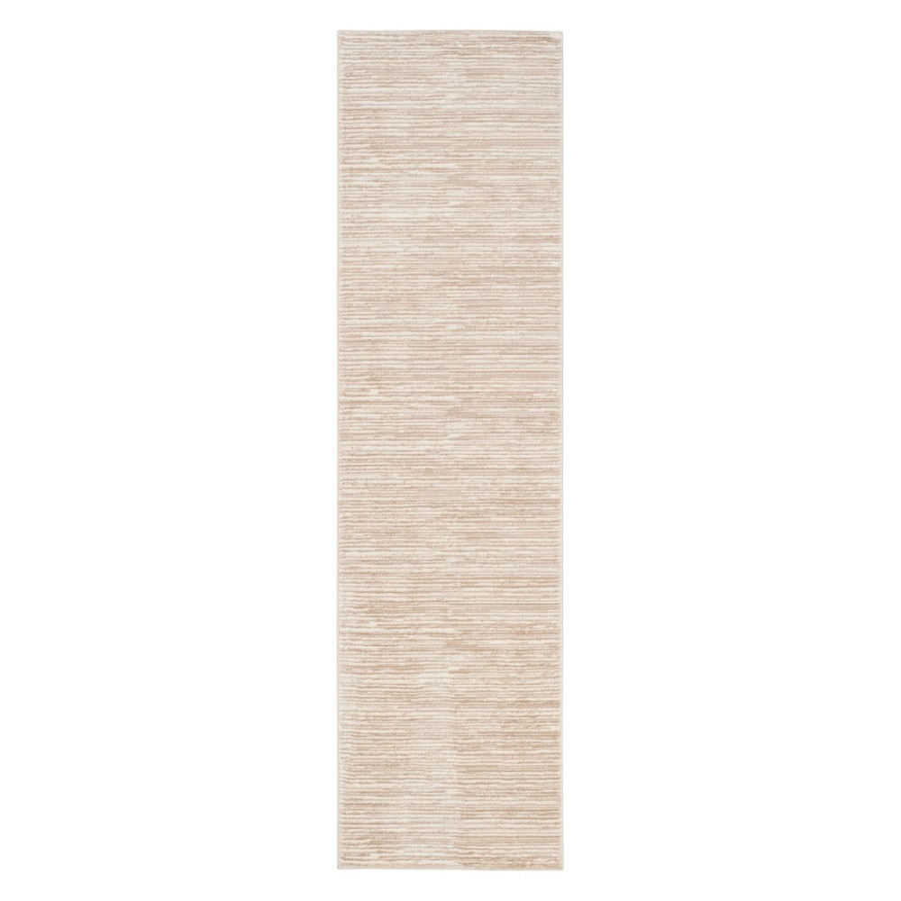 Solid Loomed Runner Creme