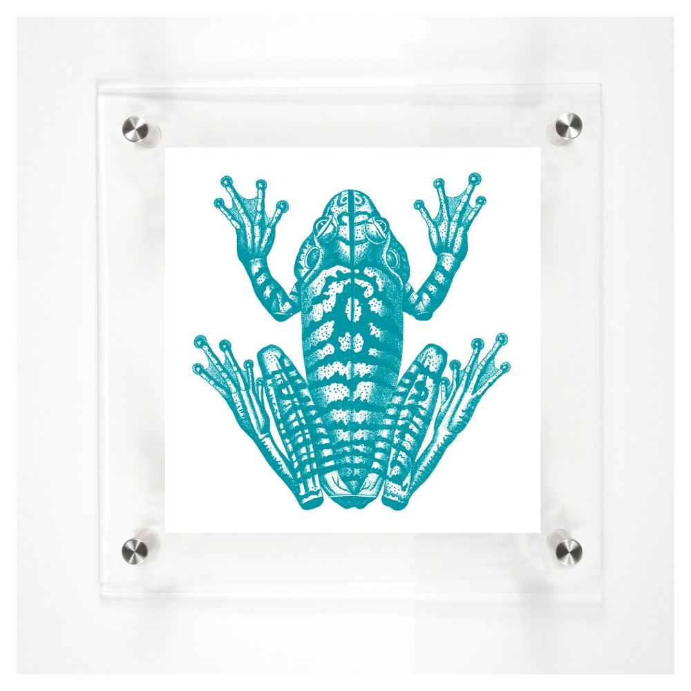 Mitchell Black Prince Decorative Framed Wall Canvas Aqua (Blue) (12