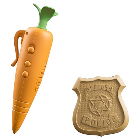 Zootopia Judy's Carrot Recorder and Badge - image 1 of 3