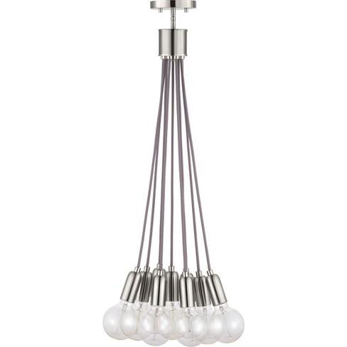 "Progress Lighting P500140 Cirro 9 Light 6"" Wide Multi Light Pendant - image 1 of 1"