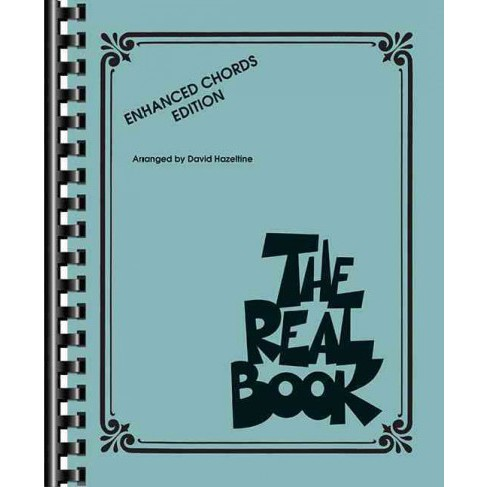 Real Book : Enhanced Chords Edition (Paperback) - image 1 of 1