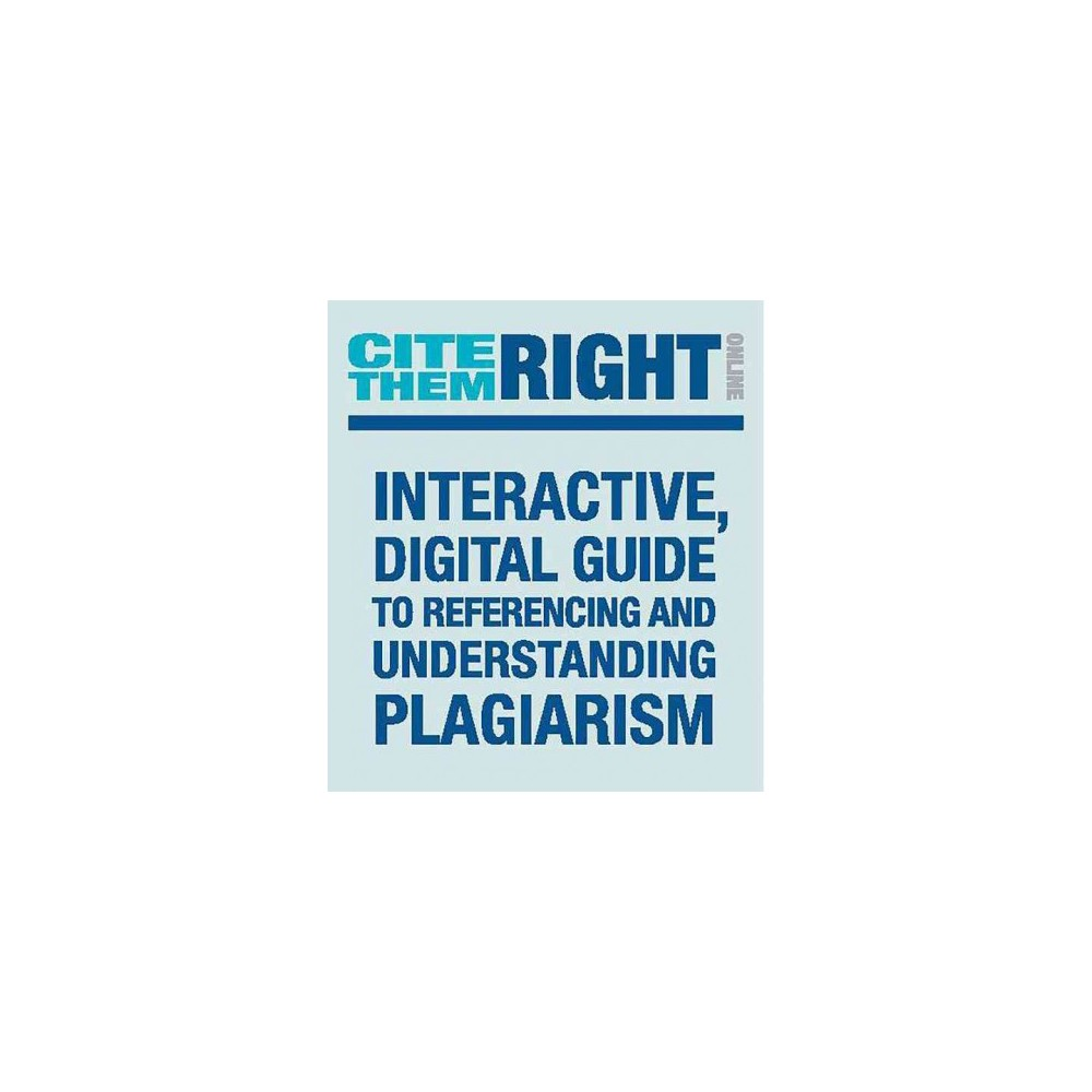 Cite Them Right Online - by Richard Pears & Graham Shields (Paperback)