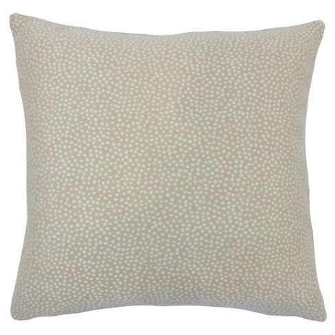"""Gray Textured Square Throw Pillow (18""""x18"""") - The Pillow Collection - image 1 of 1"""