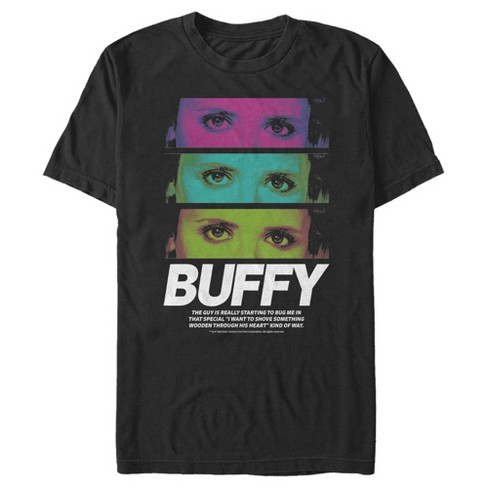 Men's Buffy the Vampire Slayer Rainbow Panels T-Shirt - image 1 of 3
