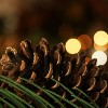 "Allstate 30"" Unlit Long Pine Needle with Pine Cones Artificial Christmas Wreath - image 4 of 4"