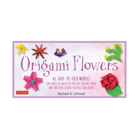 Origami flowers 41 easy to fold models includes 98 sheets of about this item mightylinksfo