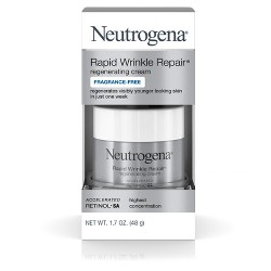 Neutrogena Rapid Wrinkle Repair Hyaluronic Acid & Retinol Face Cream - 1.7oz
