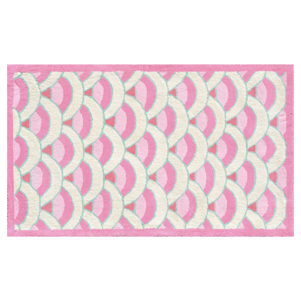 Image of Pink Chin Lin Rug (3'x5') - The Rug Market