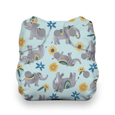 Thirsties Snap Natural Newborn All In One Reusable Diaper Cover - Elefantabulous