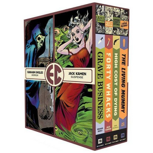 The EC Artists Library Slipcase Vol. 4 - (EC Comics Library) (Hardcover) - image 1 of 1