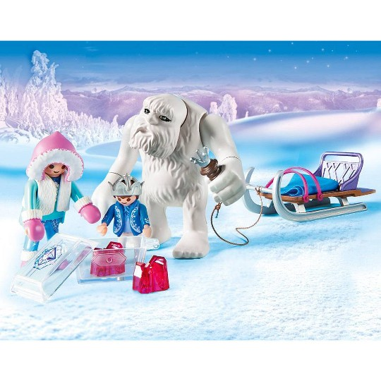 Playmobil Yeti with Sleigh Set image number null
