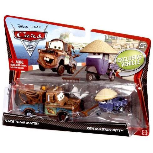 Disney Pixar Cars Cars 2 Race Team Mater And Zen Master Pitty