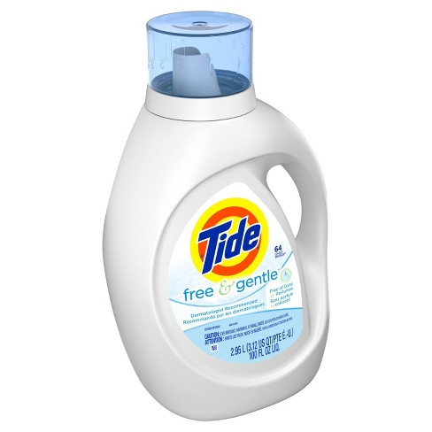 Tide Free and Gentle Liquid Laundry Detergent - 100 fl oz - image 1 of 3