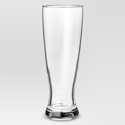 23.4oz 4pk Glass Classic Pilsner Beer Glasses - Threshold™