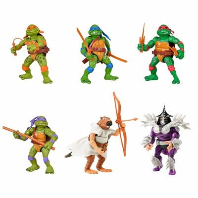Teenage Mutant Ninja Turtles Movie Star Action Figure Set - 6 Pack