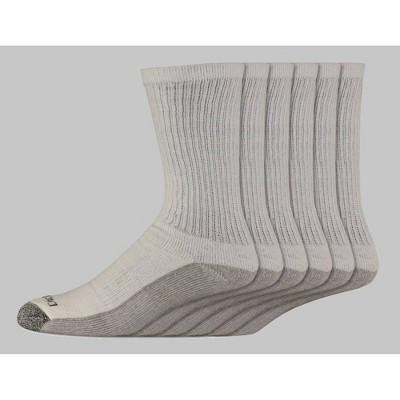 Dickies Big & Tall Dri-Tech Moisture Control Casual Socks 6pk - 12-14