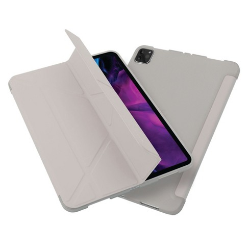 """Insten - Tablet Case for iPad Pro 11"""" 2020, Multifold Stand, Magnetic Cover Auto Sleep/Wake, Pencil Charging, Gray - image 1 of 3"""