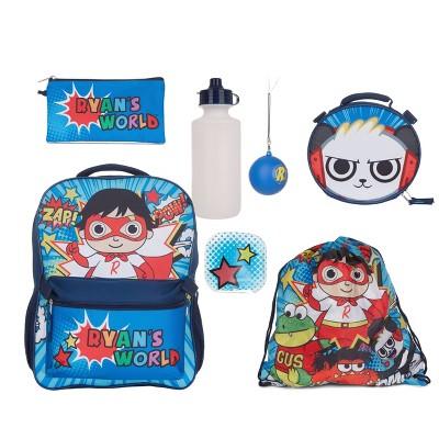 "Ryan's World 16"" Kids' Backpack Set - 7pc"