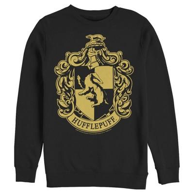 Men's Harry Potter Hufflepuff House Crest Sweatshirt