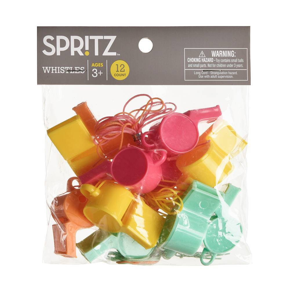 12ct Party Favor Whistles Spritz 8482