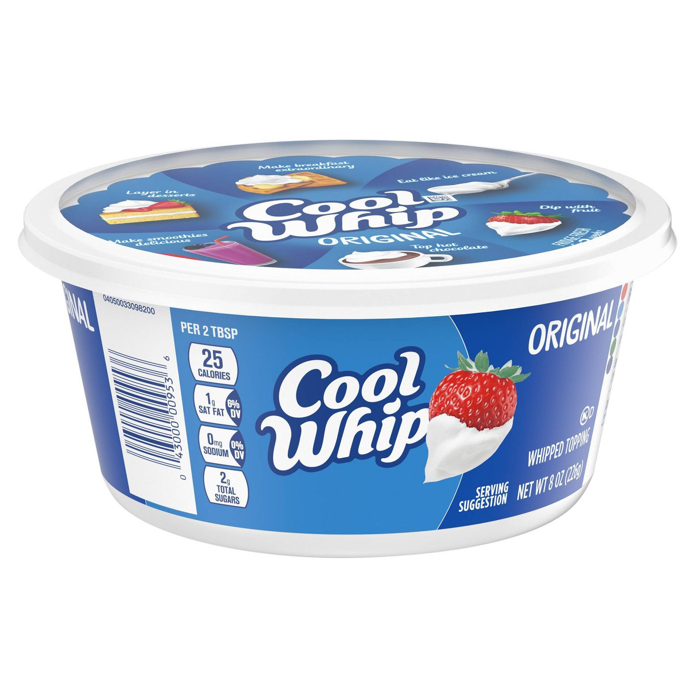 Cool Whip Original Frozen Whipped Topping - 8oz - image 1 of 8