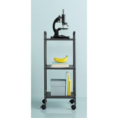 3 Shelf Utility Storage Cart Gray - Room Essentials™