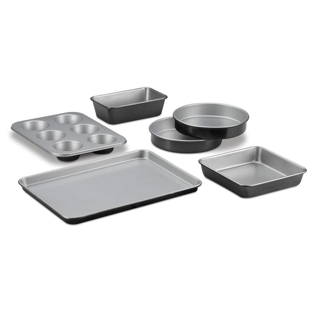 Cuisinart 6 Piece Bakeware Set, Silver