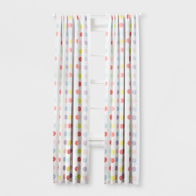 Light Blocking Curtain Panel Bright Dots (84 )- Cloud Island™ Multicolored
