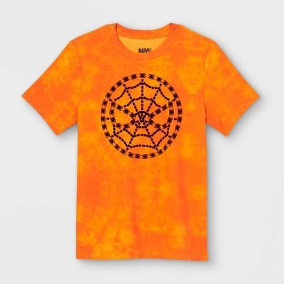 Boys' Marvel Spider-Man: Miles Morales Short Sleeve Graphic T-Shirt - Orange