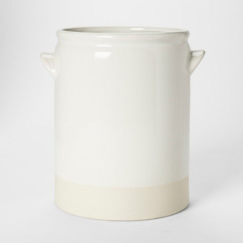 Decorative Vase - White - Threshold™ - image 1 of 2