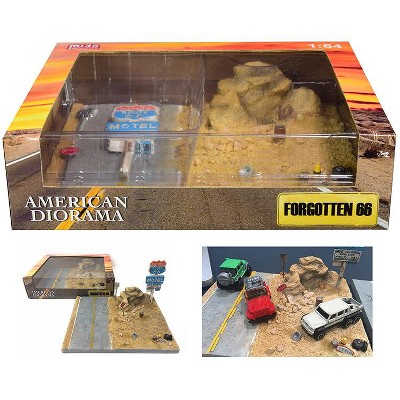 """""""Forgotten 66"""" Resin Diorama for 1/64 Scale Models by American Diorama"""