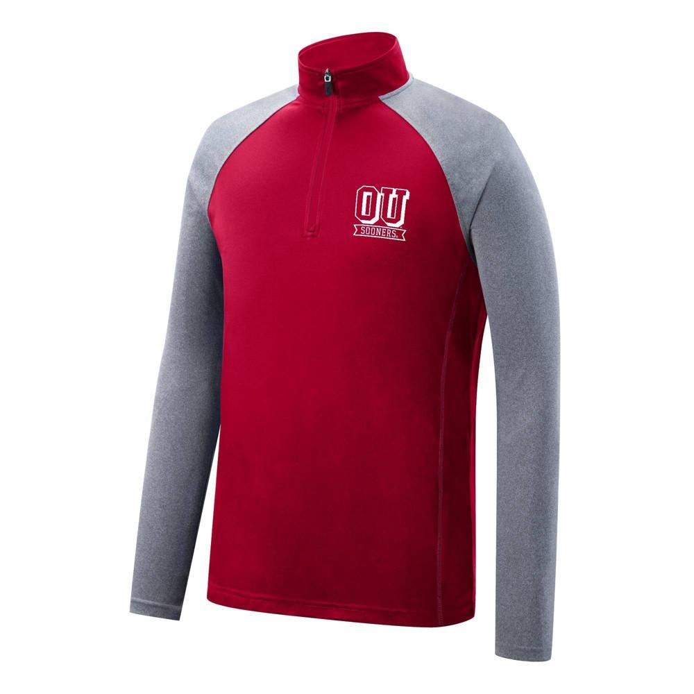 Ncaa Oklahoma Sooners Men 39 S 1 4 Zip Pullover