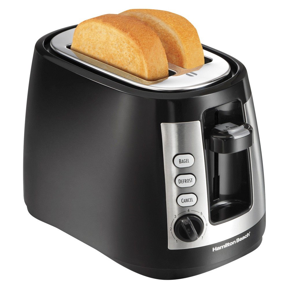 Hamilton Beach 2-Slice Warm Mode Toaster- Black 22810 15066823