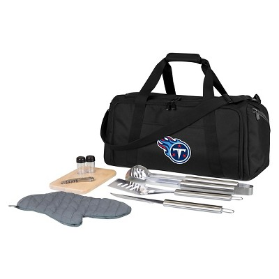 NFL Picnic Time BBQ Grill Tools Kit with Duffel Bag