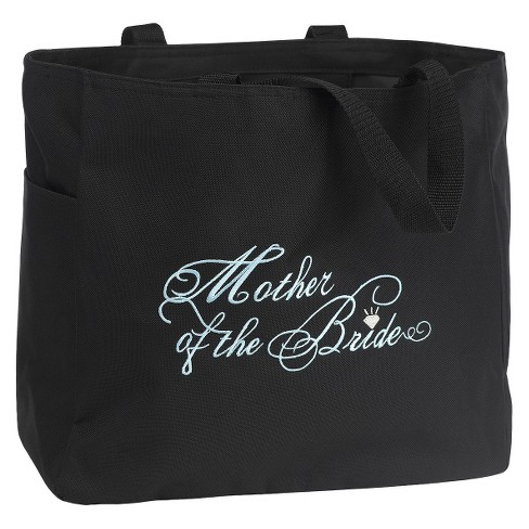 Mother of the Bride Wedding Gift Tote Bag - Black - image 1 of 2