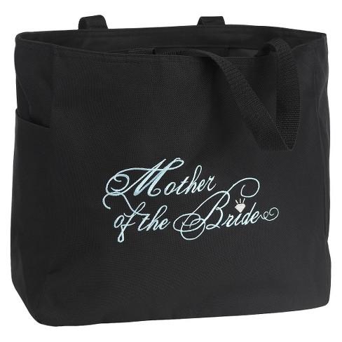 Mother Of The Bride Wedding Gift Tote Bag Black Target