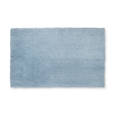 38 x24  Tufted Spa Bath Rug Sky Blue - Fieldcrest®