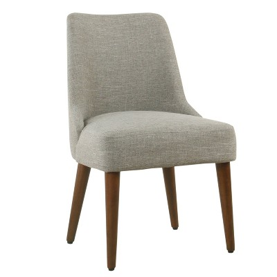 Hemet Gayle Side Chair Woven Gray - HomePop