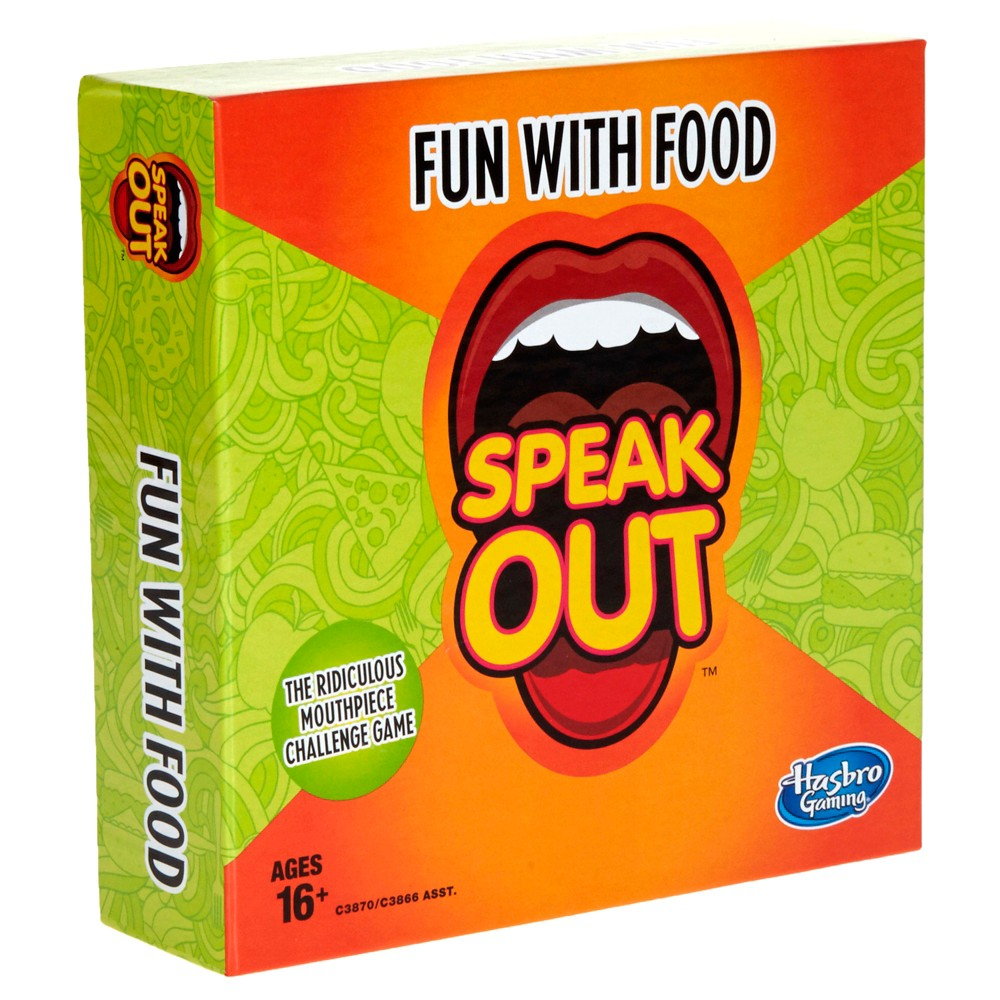 Speak Out Expansion Pack: Fun With Food Board Game