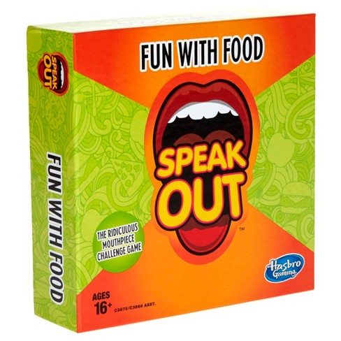 Speak Out Expansion Pack: Fun With Food Board Game - image 1 of 3