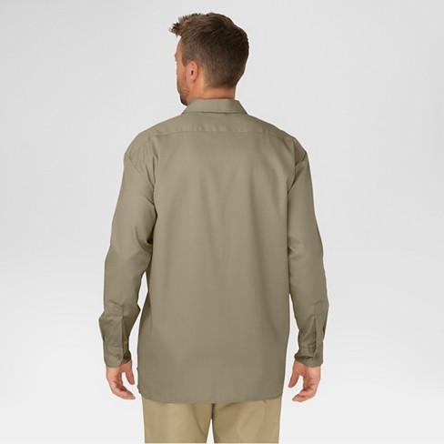 7febecea Dickies Men's Big & Tall Original Fit Long Sleeve Twill Work Shirt ...