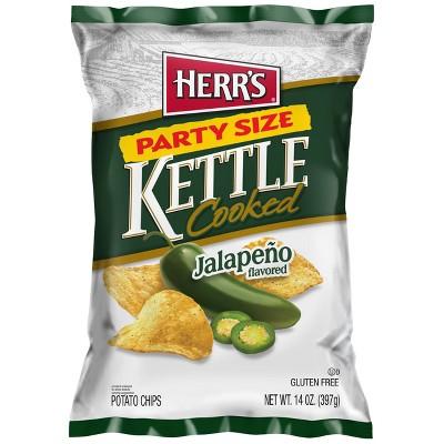 Herr's Foods Jalapeno Kettle Chips - 14oz