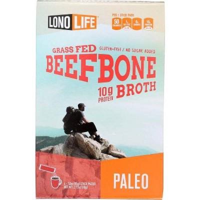 LonoLife Bone Broth Beef Stick - 4pk