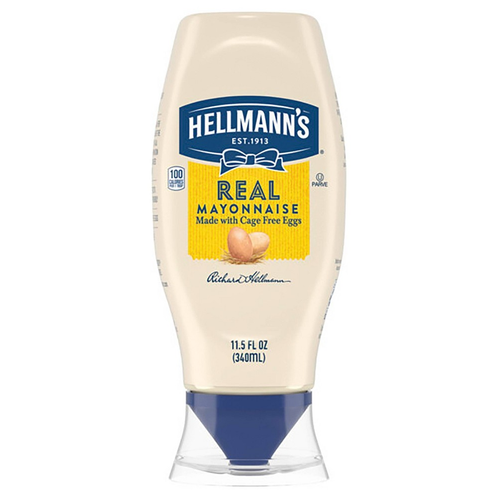 Hellmanns Real Mayonnaise Squeeze - 11.5oz Price