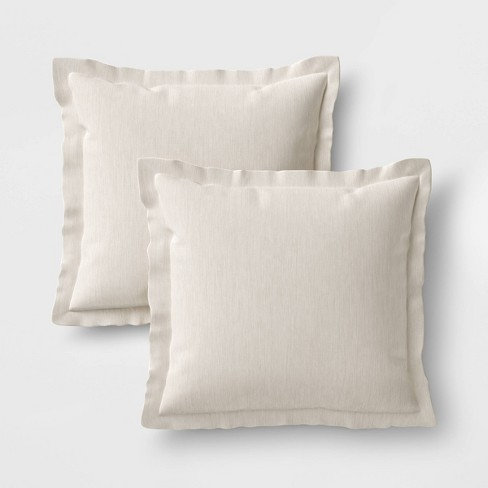 Outdoor Square Throw Pillow 2 Pack! Threshold   *Price Includes Shipping!!!