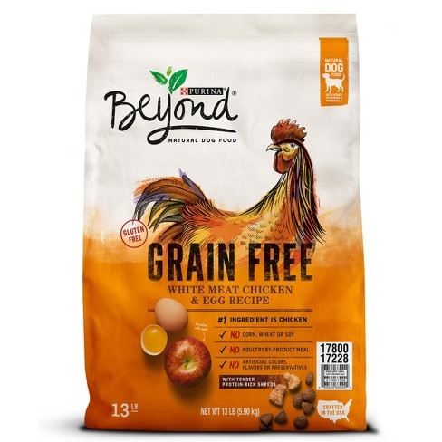 Purina Beyond Grain Free White Meat Chicken & Egg Recipe Dry Dog Food - 13lbs - image 1 of 6